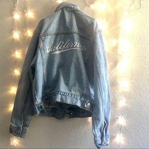 🌊🎉🎉California Denim long sleeve jacket